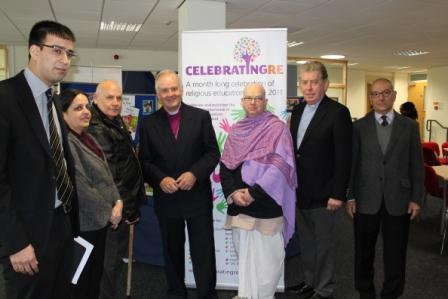 faith leaders at celebrating RE
